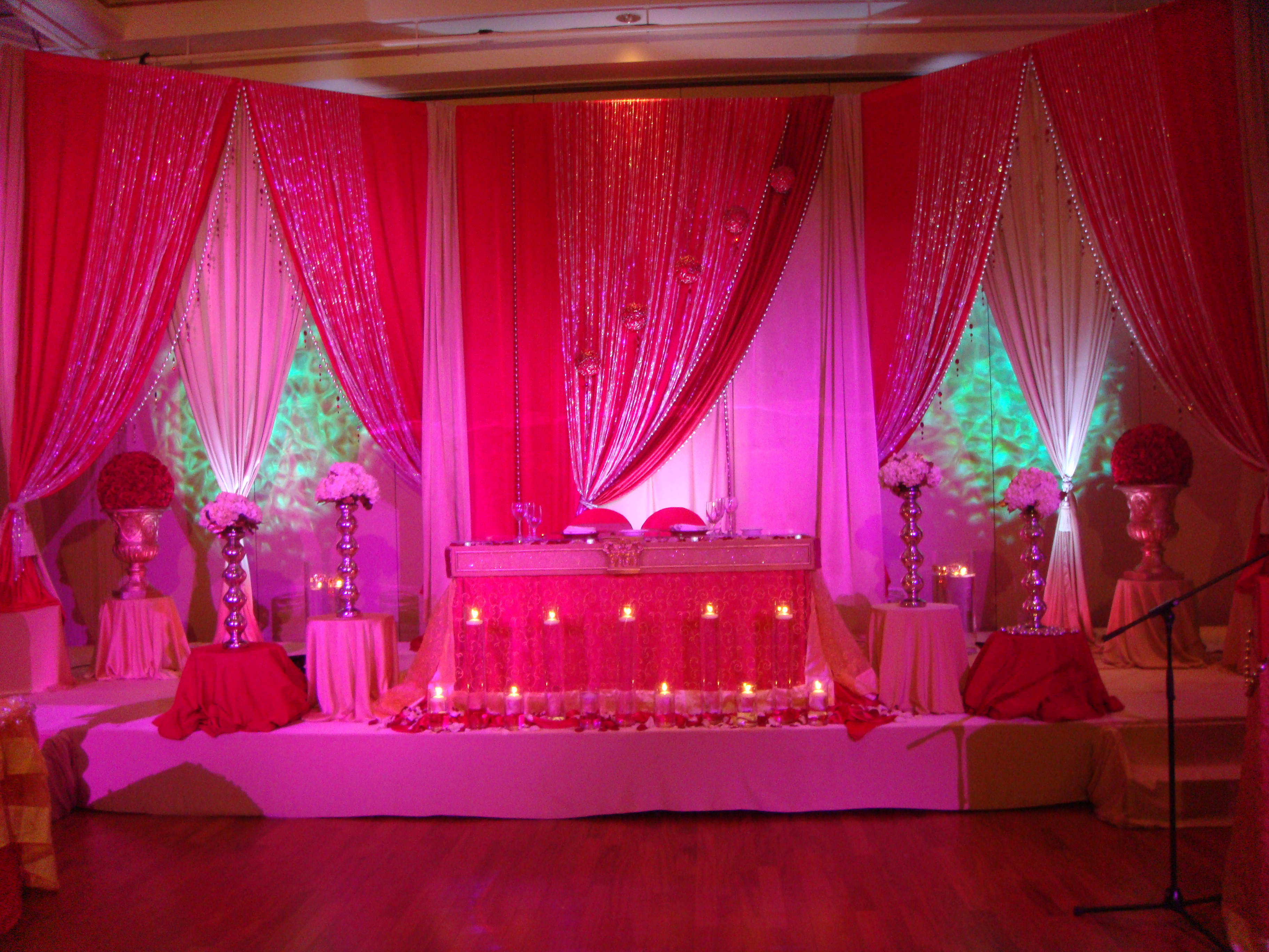 Seema manish reception backdrop for Decoration pictures