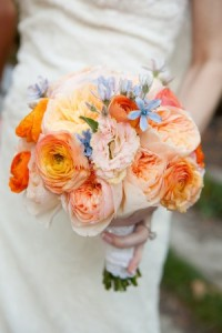 Orange-Peach-Blue-Bouquet-300x450
